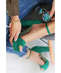 f8c272ab834e3 Zelené Dámske topánky | 1 990 kúskov na jednom mieste - Glami.sk