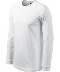 64fff61a3b2c5 ČistéOblečenie.sk Jednofarebné Pánske tričko s dlhým rukávom, kontrastné, Dlhý  rukáv, regular