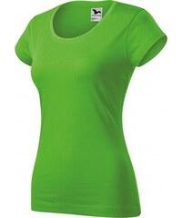 1b7087e79 ČistéOblečenie.sk Jednofarebné Dámske tričko zúžené s okrúhlym výstrihom,  Krátky rukáv, slim fit