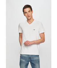 57a24bf41 Pánske tričko Emporio Armani 111267 CC717 biela L Biela - Glami.sk