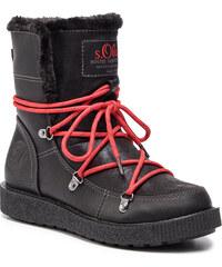 7ebc79fc9ac00 Členková obuv S.OLIVER - 5-26459-31 Black 001