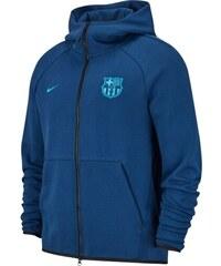 938f28a4d Nike FC Barcelona pánska mikina s kapucňou 19 Tech Fleece blue