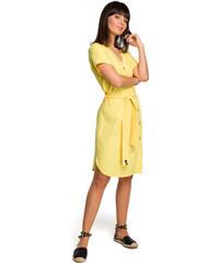 dcf8b6b28 Žlté Dámske oblečenie z obchodu Modalux.sk   30 kúskov na jednom ...