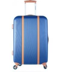 8e4310f4a78bf Talianske Cestovné kufre veľké XL modré svetlé 98 litrov Turíno navy cw555