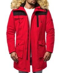 a8ba4ff8404e9 Červené Pánske bundy a kabáty | 1 220 kúskov na jednom mieste - Glami.sk