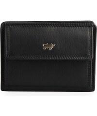 426f91bd4 Braun Büffel Kožené čierne puzdro na doklady a kreditné karty Braun ...