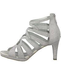 551d5314a9d87 Insolia Strieborné dámske sandále na ihličkovom podpätku - Glami.sk
