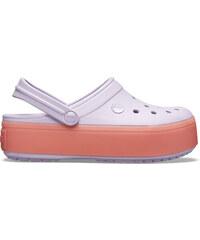 979f87831 dámske papuče Crocs Crocband Platform Clog fialová, ružová - 41,42