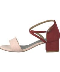 ac3fae499baf3 Tamaris Dámske sandále 1-1-28237-22-643 Powder/Lipstick