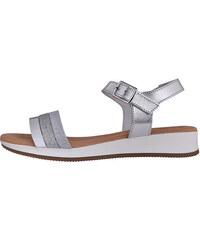 6e7335166641c NEW LOOK Strieborné sandále s kamienkami - Glami.sk