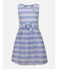 79278e602 Harpers New Collection Biele pásikavé dievčenské šaty Pepe