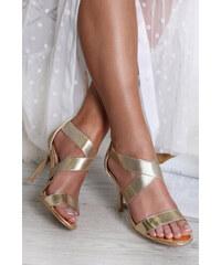 385c6e30856f1 Zlaté Dámske topánky z obchodu Topankovo.sk   90 kúskov na jednom ...