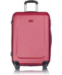 89abe73a7ba8b PUCCINI Cestovné kufre na kolieskach stredné 65 litrov červený puc-03-9-095