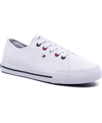 7102b59ee0a59 Tenisky TOMMY HILFIGER - Tommy Essential Sneaker FW0FW04139 White 100