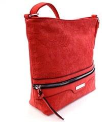 c24871848063e New Berry Červená atraktivní dámská crossbody kabelka Adham