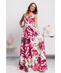 6d0e403ab www.miadresses.sk Farebné kvetinové šaty s odhaleným chrbtom