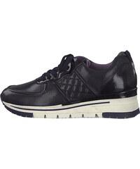 3fe7ef03c8c2b Modré kožené členkové topánky so zipsom Tamaris - Glami.sk