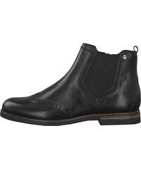 7d101ef0956b8 Tamaris Dámske členkové topánky 1-1-25027-23-001 Black