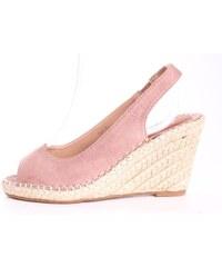 e8775f2456dcd Dámske sandále na platforme SMALL SWAN (FL 69) - staroružové (v. 9