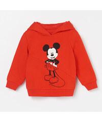 ee1cb07d8d61d Reserved - Mikina s kapucňou Disney Mickey Mouse - Červená