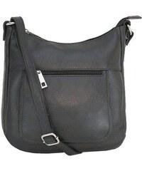 8da4584db Talianske kožené kabelky športové crossbody čierne Astrid, NEW ...