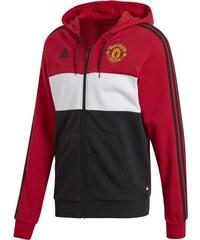 97759bc11 adidas Manchester United pánska mikina s kapucňou 19 fullzip combi