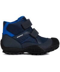 6a467efc1 Geox Chlapčenské zimné topánky Sveggen - modré - Glami.sk