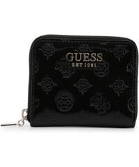 GUESS peňaženka Jacqui Check Organizer Wallet čierna, 107820