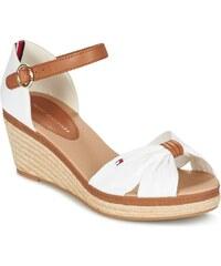 875b02e0b Tommy Hilfiger dámske štýlové sandále na klinovej podrážke - biele ...
