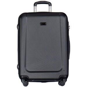 d7161319f440b Puccini cestovné kufre na kolieskach do lietadla veľké 99 litrov čierna  Ibiza ABS04A - Glami.sk