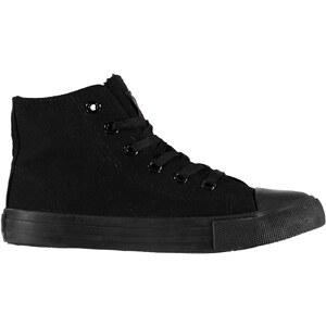 c6d4695c2b5ae Lee Cooper Canvas Hi vrchní díl obuv Unisex dětské, Black/Blk - Glami.sk