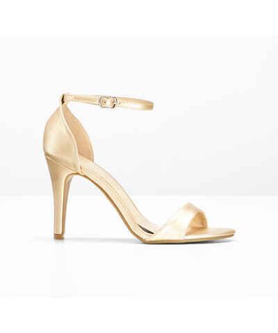 85ab01e9625dc Zlaté Dámske topánky | 920 kúskov na jednom mieste - Glami.sk