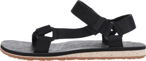 167be21e1 Čierne kožené pánske sandále Teva - Glami.sk