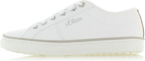dad8a7e28320c Dámske biele tenisky s.Oliver 23640 - Glami.sk