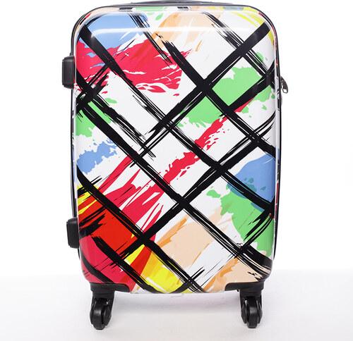 67f3863ac281d Cestovný kufor pevný farebný - David Jones California M farebná ...