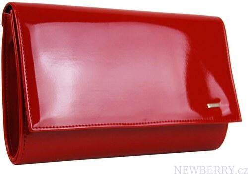 30441f278 Luxusná červená lakovaná dámska listová kabelka / písanie SP100 GROSSO