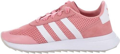 89a179b50fe85 Krémovo-ružové dámske tenisky s koženými detailmi adidas Originals ...
