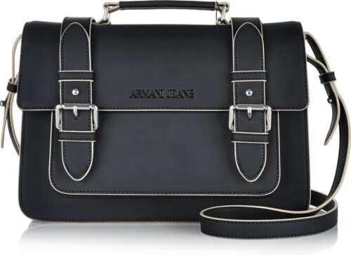 8e4eccb1c Značková kabelka cez plece Armani Jeans čierna 6aj-01-5-053-k01 ...