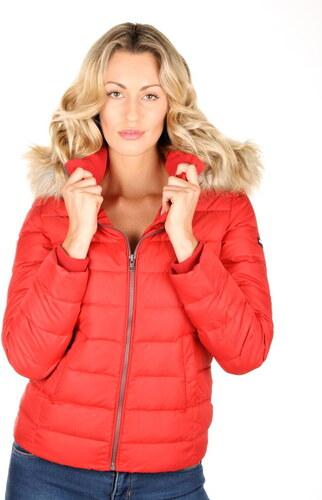 afe60b786 Tommy Hilfiger dámská červená bunda Basic - Glami.sk