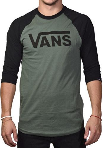 092fb9b24 VANS Pánske tričko Vans Classic Raglan Dark Forest V002QQTHC - Glami.sk