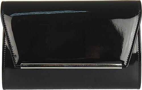 b79349a31f5 Čierna lakovaná listová kabelka AW-W52 - Glami.sk