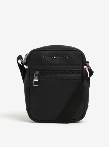d5be5b226 Čierna pánska crossbody taška Tommy Hilfiger Essential - Glami.sk