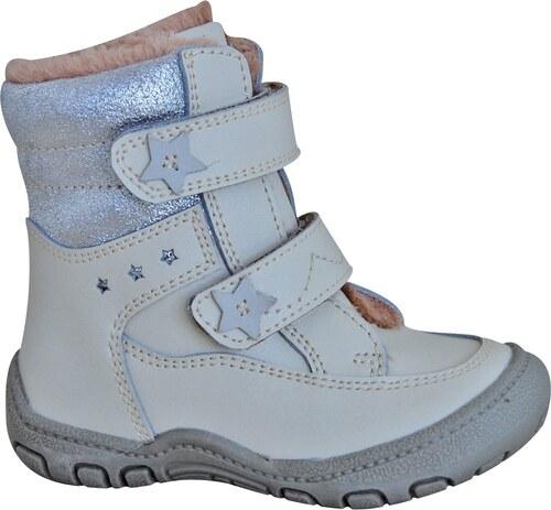 9b094a0f842ec Protetika Dievčenské zimné topánky TRIS - béžové - Glami.sk