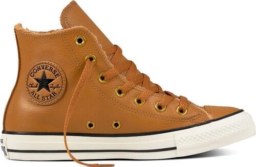 0c1f3ab500b62 Converse Chuck Taylor All Star Leather hnedé C557926 - Glami.sk