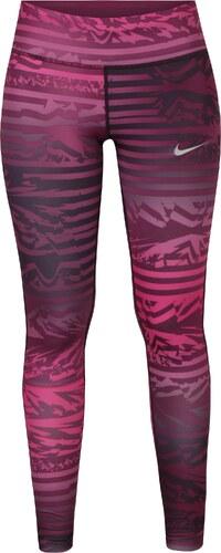 c8f26489f1ebe Ružové dámske vzorované funkčné legíny Nike - Glami.sk