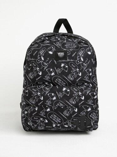 faef2b971 Čierny vzorovaný batoh VANS Peanuts - Glami.sk