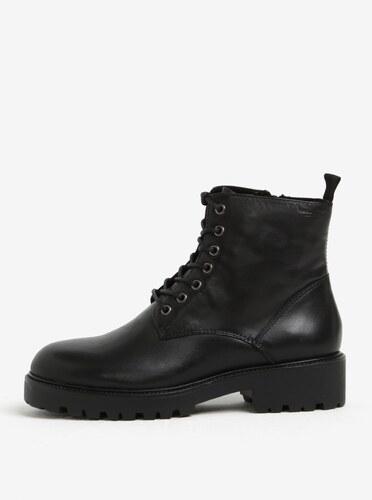 30cb8ed50 Čierne dámske kožené členkové topánky Vagabond Kenova - Glami.sk