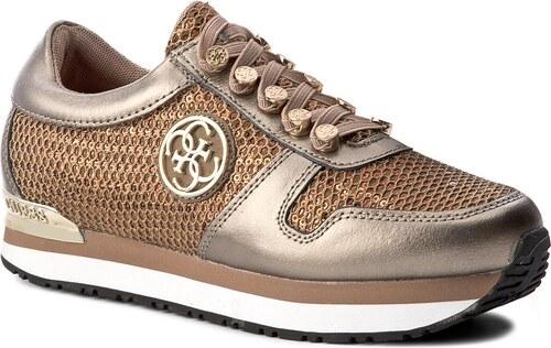 e64e3720832f8 Sneakersy GUESS - Roman FLROM3 LEM12 BRONZ - Glami.sk