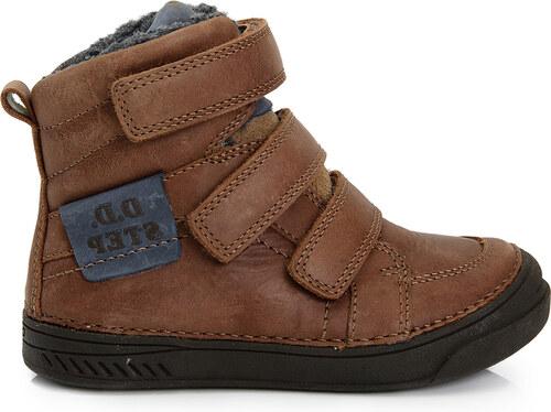 c933b92d58a98 D.D.step Chlapčenské zateplené topánky - hnedé - Glami.sk