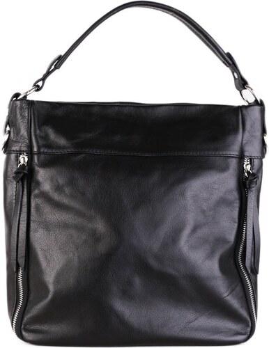 6d36057b2 Talianske kožené kabelky športové crossbody tmavomodré Seneca - Glami.sk